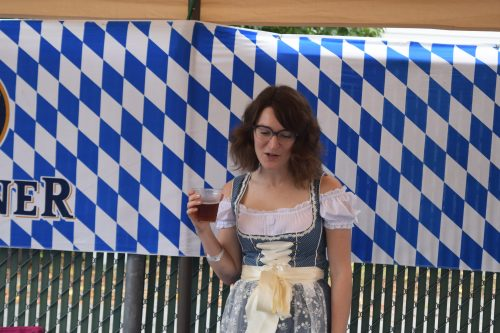 Is she the Oktoberfest Queen?